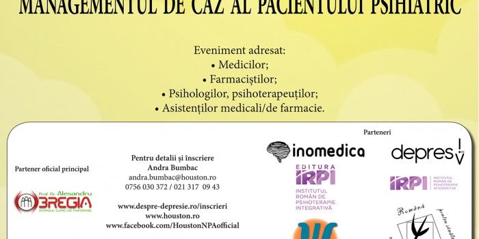 Cea de-a V-a ediție a  Conferinței Naționale Interdisciplinare  Stresul, Anxietatea, Depresia va avea loc între 11-12 mai la București