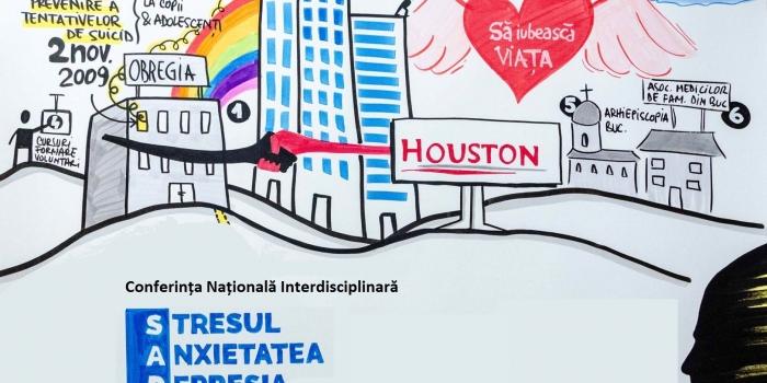 Conferința Națională Interdisciplinară Stresul, Anxietatea, Depresia (S.A.D.) și complicațiile lor, ediția a V-a, 11-12 mai 2018, București
