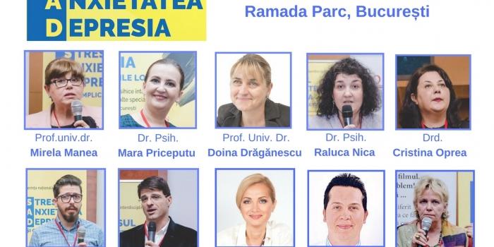 La fiecare 40 de secunde o persoană îşi ia viaţa din cauza depresiei! Conferința Stresul, Anxietatea, Depresia, (S.A.D.), ediția a V-a, va avea loc între 11-12 mai 2018, Hotel Ramada Nord, București